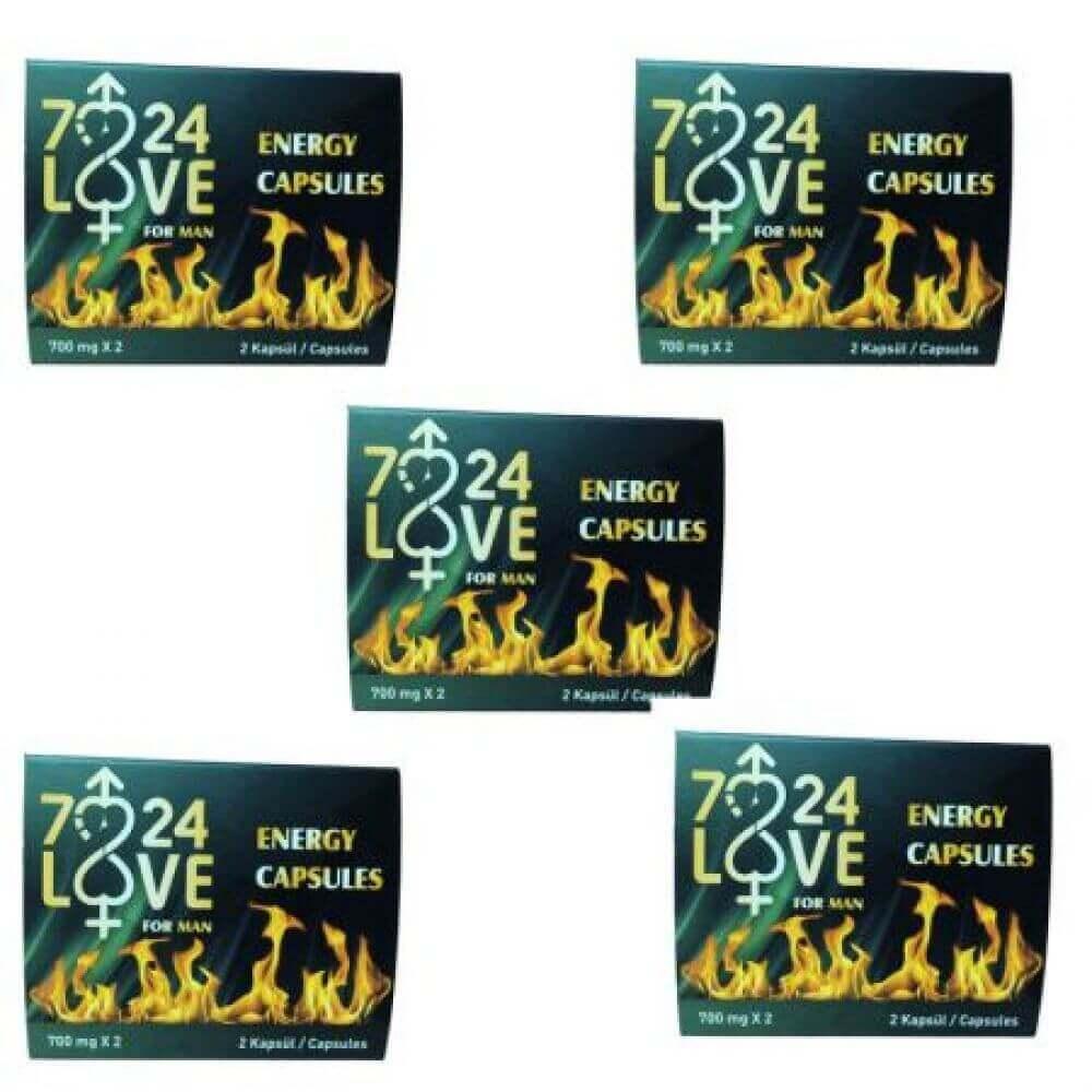 5 Kutu 7/24 Love 2'li Kapsül
