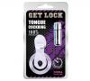Get Lock Titreşimli Dilli Penis Halkası