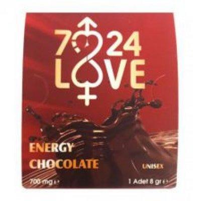 7/24 Love Unisex 2 Li Çikolata