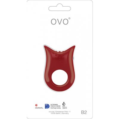Ovo B2 Titreşimli Su Geçirmez Penis Halkası-Made in Germany