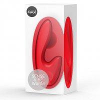 SENSEMAX SenseVibe Red Warm Isıtıcı Etkili G-Spot&Klitoris Uyarıcı Vibratör