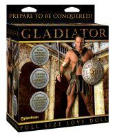 Pipedream Gladiator Titreşimli Yumuşak Penisli Şişme Bebek