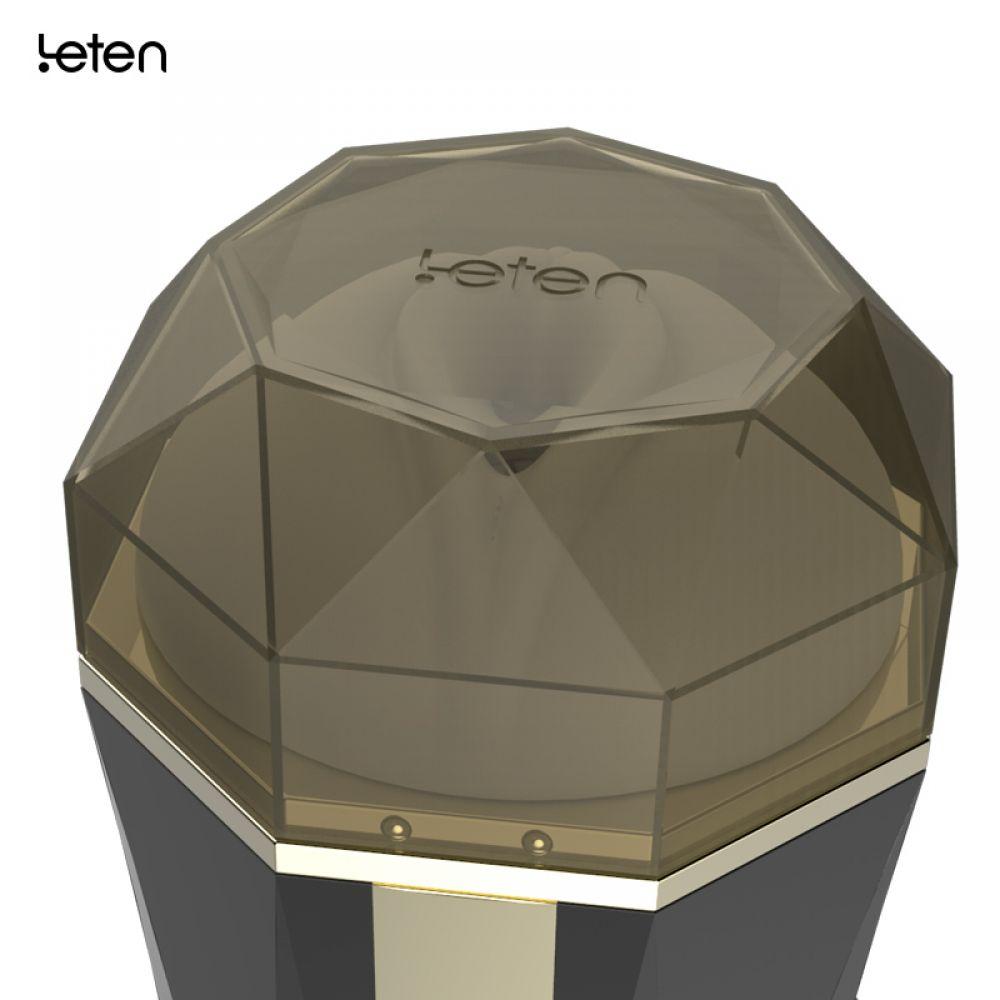 Leten Diamond Vantuzlu Emiş Yapabilen Vajina Mastürbatör