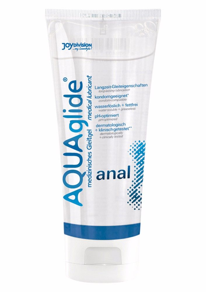 Aquaglide Anal 100 ML Kayganlaştırıcı Jel Made in Germany