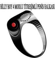 Billy Boy 4 Modlu Titreşimli Penis Halkası(Tek Kullanımlık)