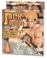 Jack Hammer Titreşimli Penisli Şişme Erkek Bebek