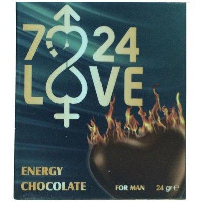 7/24 Love Erkeklere Özel Çikolata