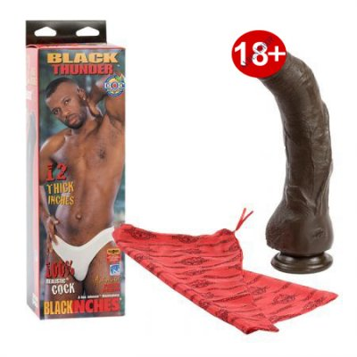 Doc Johnson Black Thunder Özel Seri Realistik Penis Made İn U.S.A