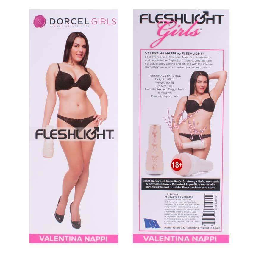 Fleshlight Dorcel Girls Valentina Nappi Vajina Mastürbatör