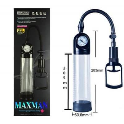 Maxman Basınç Göstergeli Penis Vakum Pompa