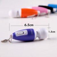 Pilleri Değiştirilebilir 6 Cm Mini Mini Titreşimli Vibratör
