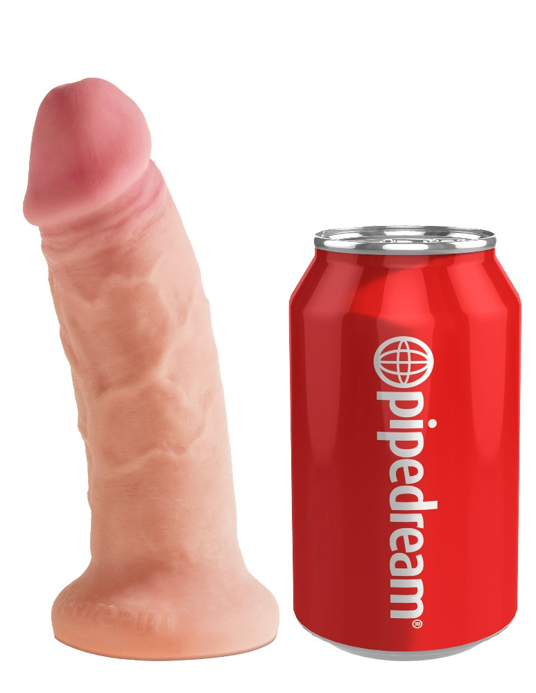 Pipedream King Cock Plus Serisi 6 İnç Realistik Dildo Made İn USA