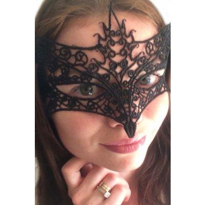 Şık Dantel Göz Maskesi-0389-2