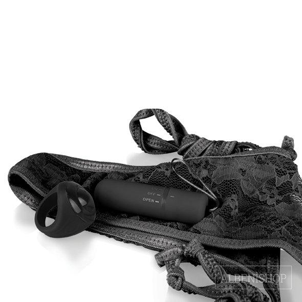The Screaming O Giyilebilen Siyah Kumandalı Vibratör